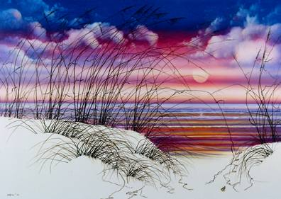 """Sea Oats Passion,"" by Hal Stowers"